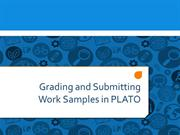 Grading and Submitting Work Samples (Compliance)