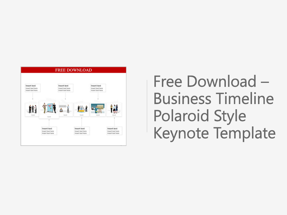 Free downloadable business timeline polaroid style keynote templat free downloadable business timeline polaroid style keynote template flashek Choice Image