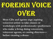 Foreign Voice Over