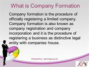 Company formation by jitendragroup
