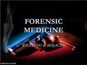 Medico Legal Investigation of Death