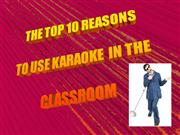 Why use Karaoke in your classroom