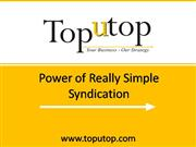 Power of Really Simple Syndication