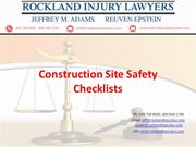 Rockland-construction site safety checklist