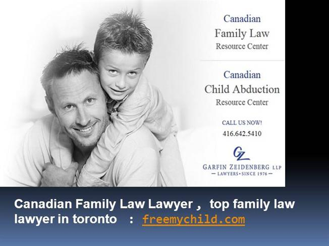 Top family law lawyers toronto