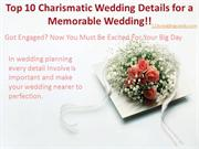 Charismatic Wedding Details by 123WeddingCards