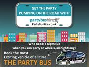 Party Bus Hire PowerPoint Presentation