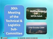 2009.10.17-TLSC 30th Meeting on 17th Oct