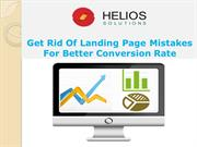 Get Rid of Landing Page Mistakes for Better Conversion Rate