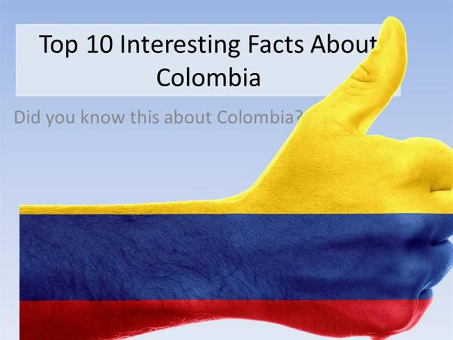 Top 10 Interesting Facts about Colombia |authorSTREAM