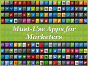 Must Use Apps for Marketers