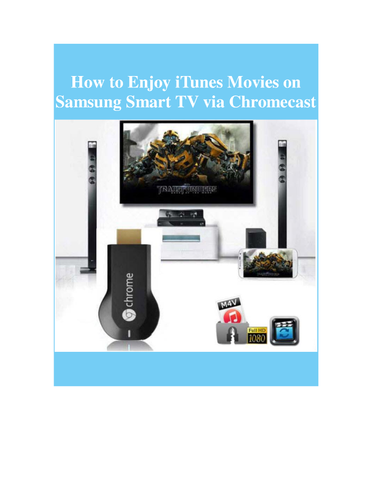 Itunes movies stream chromecast