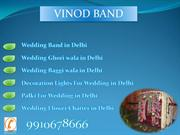 Wedding Band in Delhi