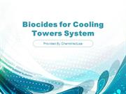 Biocides for Cooling Towers System