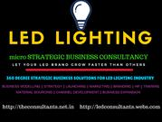 Led Lighting  Business Consultancy Services -- @ THE CO