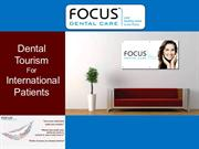 Leading Dental Tourism Center in India | Dental Tourism in India