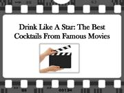 Stockton hong kong Presents: The Best Cocktails in Movies