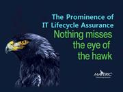 The Prominence of IT Lifecycle Assurance
