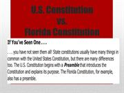 us constitution vs