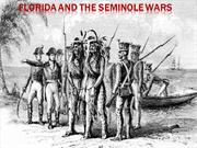 Seminole Wars powerpoint