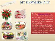 Send Roses n Lily Mix Flowers   Baket- My flowers Cart