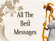 Best Good Luck Wishes and Messages