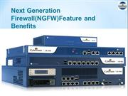 Next Generation Firewall(NGFW)Feature and Benefits