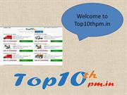 Top10thpm.in Offer Fast Packers and Movers Bhopal