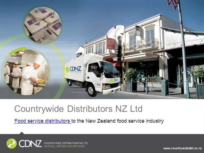 Countrywide Distributors - NZ Food Distribution |authorSTREAM