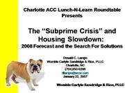 Charlotte ACC Lunch-N-Learn Roundtable P