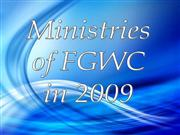 FGWC Events from 2009