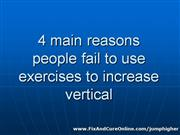 exercises to increase vertical