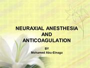 NEURAXIAL ANESTHESIA AND(1)