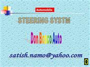 Automobile Steering System
