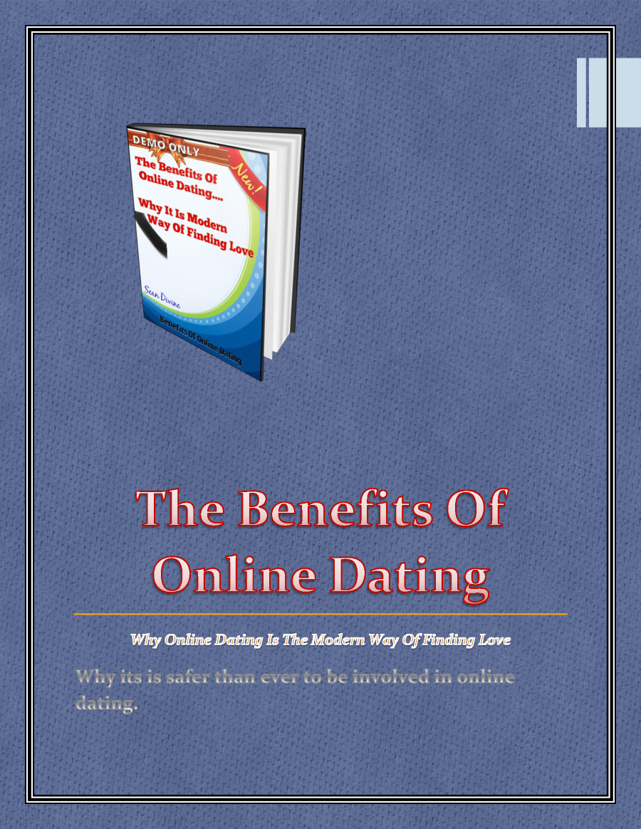 benefits of online dating pdf file