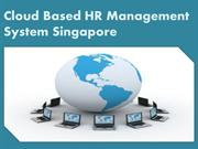 cloud based HR management system Singapore