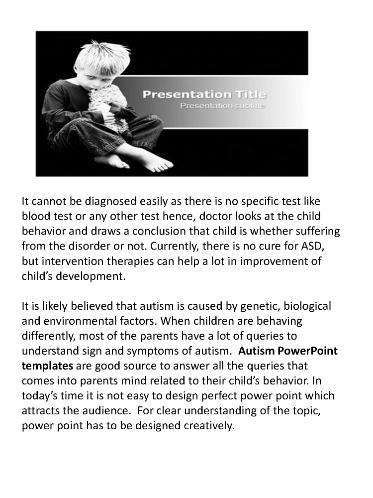 Download autism spectrum powerpoint template slideworld authorstream download autism spectrum powerpoint template slideworld toneelgroepblik Choice Image