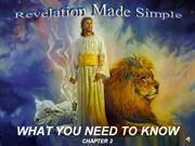 Revelation Made Simple Ch. 2 Daniel...