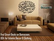 Find Great Deals on Damaceen, USA for Islamic Decor & Clothing