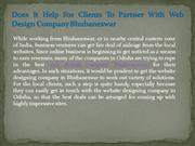 Does It Help For Clients To Partner With Web Design Company Bhubaneswa