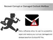 MS Outlook PST Recovery tool