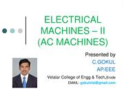 Electrical Machines 2   AC Machines