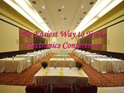 The Easiest Way to Track Electronics Conferences