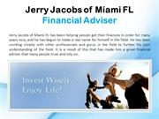 Jerry Jacobs of Miami FL_Financial Adviser