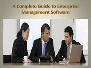 A Complete Guide to Enterprise Management Software
