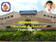 3 MEMBRANE-Structure and transport  for Medical School-3
