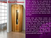 Build Personal Sauna Rooms for a Natural Cleansing Experience at Home