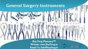 Instruments used in general surgery