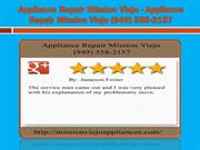 Subzero Repair Mission Viejo - Appliance Repair Mission Viejo