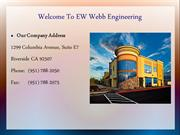 About EW Webb Engineering Inc. California Construction Company